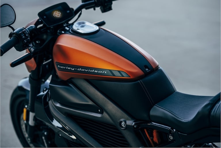 H-D Livewire electric motorcycle seat